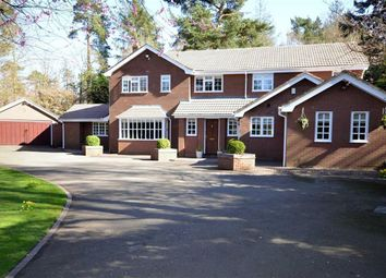 Thumbnail 5 bed detached house for sale in Kestrel Drive, Loggerheads, Market Drayton