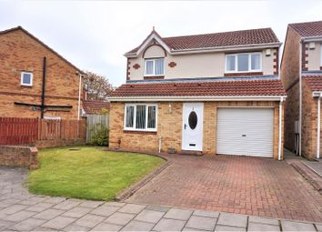 Thumbnail 3 bed detached house for sale in Redewood Close, Newcastle Upon Tyne