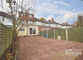 Thumbnail 4 bed semi-detached house for sale in Cateswell Road, Sparkhill, Birmingham