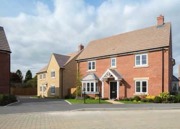 """Thumbnail 4 bed detached house for sale in """"Cadleigh"""" at Field Close, Longworth, Abingdon"""