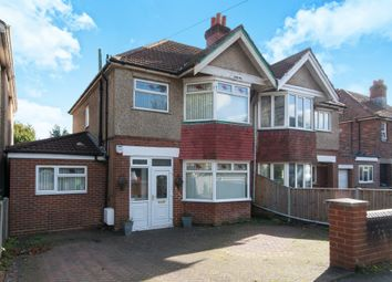 Thumbnail 4 bedroom semi-detached house for sale in Hartley Avenue, Southampton