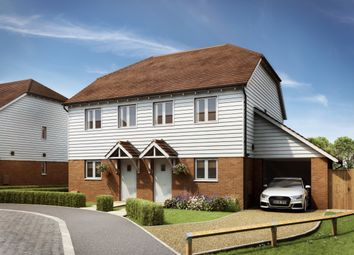 Thumbnail 2 bed semi-detached house for sale in Woodchurch Rd, Shadoxhurst, Ashford