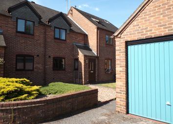 Thumbnail 2 bedroom town house to rent in Forge Close, Repton, Derbyshire