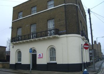 Thumbnail 3 bed flat to rent in Flat 2, 39 The Terrace, Gravesend, Kent