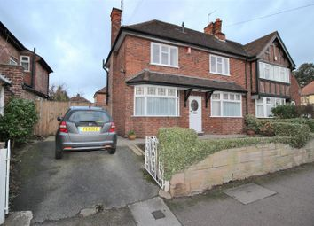 Thumbnail 3 bed semi-detached house for sale in Abbey Road, Beeston, Nottingham