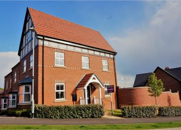 Thumbnail 3 bed town house for sale in Philip Bent Road, Ashby-De-La-Zouch