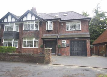 Thumbnail 6 bed semi-detached house for sale in Greenleach Lane, Worsley, Manchester