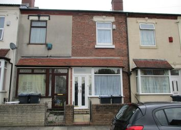 Thumbnail 3 bed terraced house to rent in Cornwall Road, Handsworth