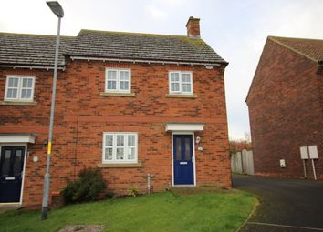 Thumbnail 3 bed semi-detached house for sale in Farriers Rise, Shilbottle, Alnwick