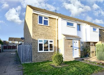 Thumbnail 3 bed end terrace house for sale in Bedford Crescent, St. Ives, Cambridgeshire