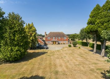 Thumbnail 5 bed detached house for sale in Leybourne House, Birling Road, Leybourne