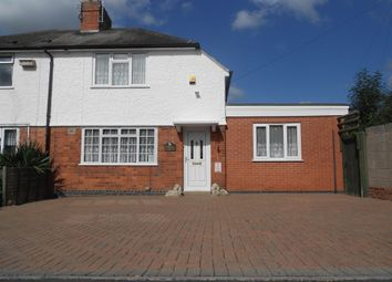 Thumbnail 3 bedroom semi-detached house for sale in The Avenue, Glenfield, Leicester