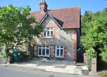 Thumbnail 3 bed semi-detached house to rent in High Street, Findon, Worthing
