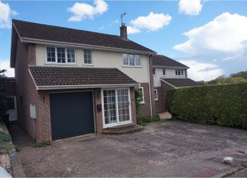 Thumbnail 4 bedroom detached house for sale in Moor View Close, Sidmouth