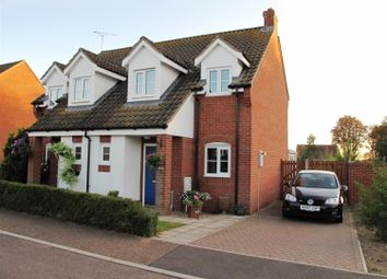 Thumbnail 2 bed semi-detached house to rent in Station Drive, Reedham, Norwich
