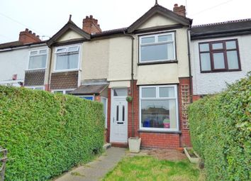 Thumbnail 2 bedroom terraced house for sale in Highgrove Road, Trent Vale, Stoke-On-Trent