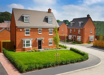 Thumbnail 5 bedroom detached house for sale in Doseley Park, St Lukes Road, Doseley, Telford