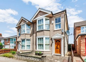 Thumbnail 3 bed semi-detached house for sale in Hampton Road, Worcester Park