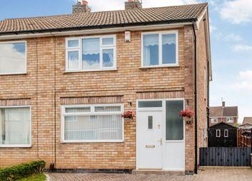 Thumbnail 3 bed semi-detached house for sale in Dunster Road, Mountsorrel, Loughborough
