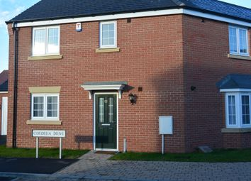 Thumbnail 3 bedroom semi-detached house to rent in Cordelia Drive, Birstall