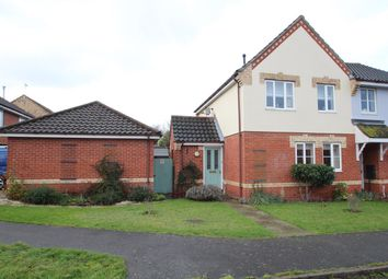 Thumbnail 3 bed semi-detached house for sale in Plummers Dell, Great Blakenham, Ipswich