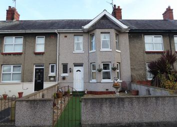 Thumbnail 3 bed terraced house for sale in Ffordd Tegid, Bangor
