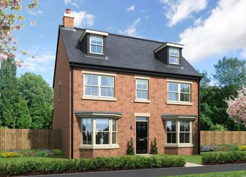 Thumbnail 5 bed detached house for sale in Greysfield, Backworth Park, Newcastle Upon Tyne