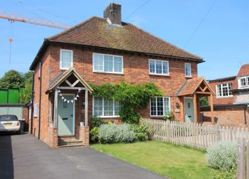 Thumbnail 2 bed semi-detached house for sale in The Dean, Alresford