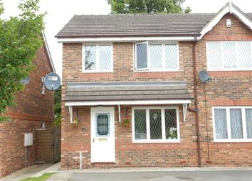 Thumbnail 3 bed semi-detached house to rent in Orchid Rise, Scunthorpe