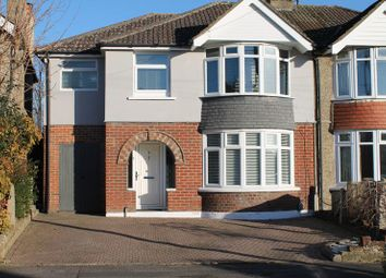 Thumbnail 4 bed semi-detached house for sale in Tismeads Crescent, Swindon