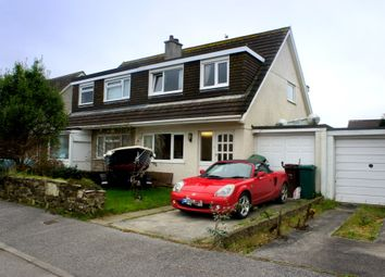 Thumbnail 3 bed semi-detached house to rent in Pendeen Close, Threemilestone, Truro