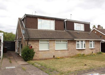 Thumbnail 4 bed bungalow for sale in Friesland Drive, Wolverhampton