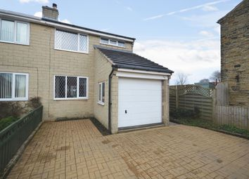 Thumbnail 3 bed semi-detached house for sale in Warburton, Emley, Huddersfield, West Yorkshire