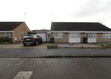 Thumbnail 2 bed semi-detached bungalow for sale in Crowson Crescent, Northborough, Peterborough