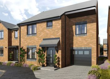 Thumbnail 4 bed detached house for sale in Marley View, Marley Hill, Newcastle Upon Tyne