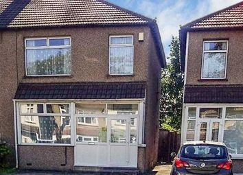 Thumbnail 3 bed semi-detached house for sale in Ashwater Road, London