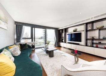 Thumbnail 3 bed flat for sale in Chartwell House, Waterfront Drive, Chelsea Waterfront, London