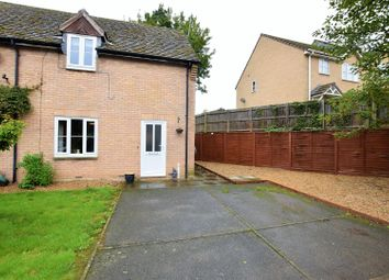 Thumbnail 2 bed semi-detached house for sale in The Brooks, Exton, Oakham