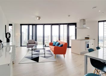 Thumbnail 2 bed flat for sale in Unex Tower, 7 Station Street, London