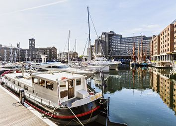 Thumbnail 2 bed houseboat for sale in St Katharine Docks, London