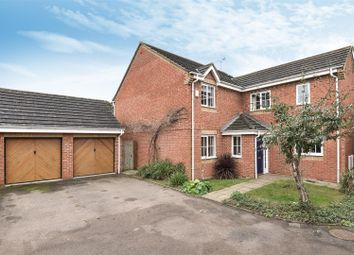 Thumbnail 4 bedroom detached house for sale in Ribes Close, Hampton Hargate, Peterborough