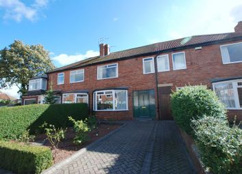 Thumbnail 3 bed terraced house for sale in Princes Avenue, Gosforth, Newcastle Upon Tyne