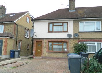 Thumbnail 3 bedroom end terrace house for sale in Fryent Grove, London