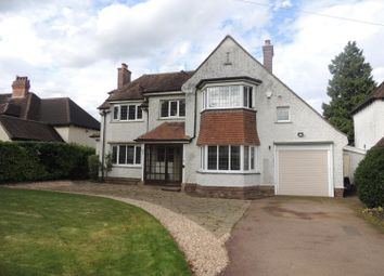 Thumbnail 4 bed detached house to rent in Kenilworth Road, Knowle, Solihull