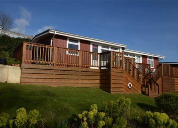 Thumbnail 2 bed semi-detached bungalow for sale in Coast View Holiday Park, Torquay Road, Shaldon, Devon