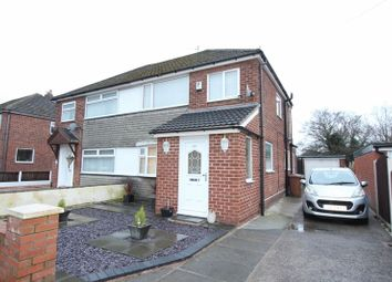 Thumbnail 3 bed semi-detached house for sale in Prestbury Avenue, Prenton, Wirral