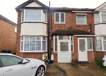 Thumbnail 3 bed maisonette to rent in Bilton Road, Perivale, Greenford, Greater London