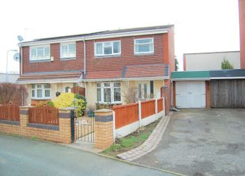 Thumbnail 3 bedroom semi-detached house for sale in Fallowfield, Pendeford, Wolverhampton