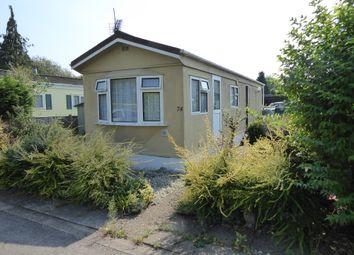 Thumbnail 1 bedroom mobile/park home for sale in Mytchett Farm Park, Mytchett Road, Mytchett, Nr Camberley, Surrey