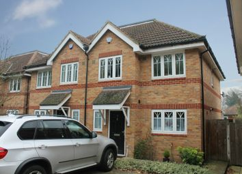 Thumbnail 4 bed semi-detached house for sale in Loncin Mead Avenue, Addlestone, Surrey